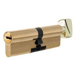 Цилиндр Apecs Premier XR-90(40C/50)-C15-G, 40x50 мм, ключ/вертушка, цвет золото
