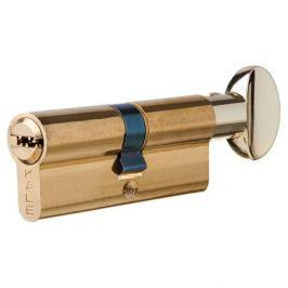 Цилиндр Kale 164SM-80-C-BP, 35х35 мм, ключ/вертушка, цвет золото