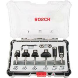 Набор фрез Bosch 6 шт., 6 мм