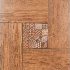 Керамогранит Cersanit Bellariva 42x42 см 1.58 м² цвет коричневый