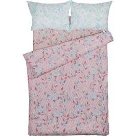 Комплект постельного белья Василиса Вдохновение полутораспальный поплин розовый