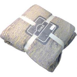 Плед «Реликт» 180x200 см фланель цвет серый