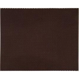 Коврик 58x73 см, ЭВА, цвет коричневый