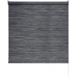 Штора рулонная Loft 180x175 см, цвет угольный