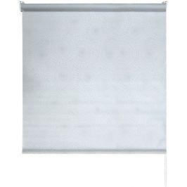 Штора рулонная Round 200x175 см, цвет серый