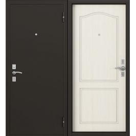 Дверь металлическая Стефан, 860 мм, правая, цвет лиственница белая