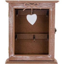 Ключница «Витрина» со стеклянной дверцей