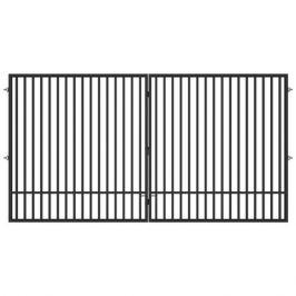 Ворота распашные Гарант 4.0x2.08 м