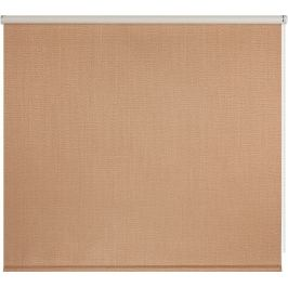 Штора рулонная Dublin блэкаут 120x175 см, цвет коричневый