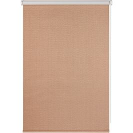 Штора рулонная Dublin блэкаут 80x160 см, цвет коричневый