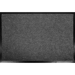Коврик «Olympia» 90x150 см полипропилен/ПВХ цвет серый