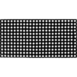 Коврик ячеистый 50x100 см, резина, цвет чёрный