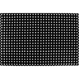 Коврик ячеистый 80x120 см, резина, цвет чёрный