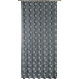 Штора на ленте «Sonata», 160х260 см, геометрия, цвет чёрный