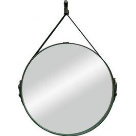 Зеркало декоративное «Миллениум блэк» на ремне, круг, Ø65 см