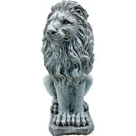 Садовая фигура «Лев смотрит вправо» высота 52 см