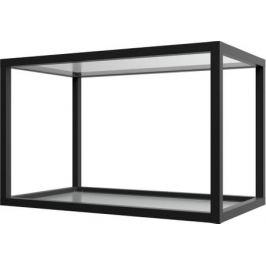 Полка-каркас для кухни 38.4х35х60 см, алюминий/стекло