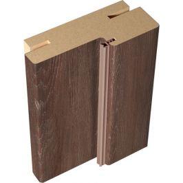 Комплект дверной коробки телескопический «Летиция», 28x70 см, цвет дуб корица