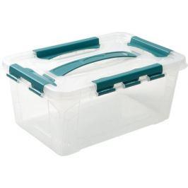 Ящик для хранения Grand Box, 4.2 л, 19x12.4x29 см, пластик, цвет прозрачный