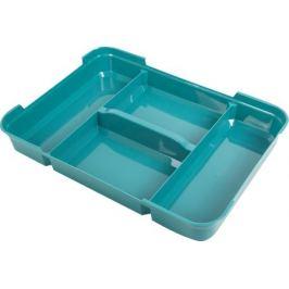 Органайзер для мелочей 39x29x5.5 см, пластик, цвет мультиколор