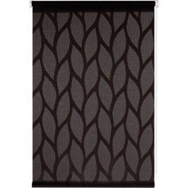 Штора рулонная Bella 80x160 см, цвет чёрный