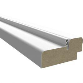 Комплект дверной коробки твинвуд белый 2370х74 мм
