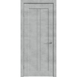 Дверь межкомнатная остекленная с замком и петлями в комплекте Сиэтл 70x200 см ПВХ цвет лофт светлый