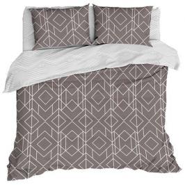 Комплект постельного белья «Каро», евро, бязь, светло-коричневый