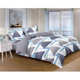 Комплект постельного белья «Лофт» двуспальный сатин серый