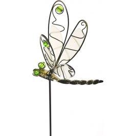 Фигура садовая «Стрекоза на штекере» высота 17.5 см