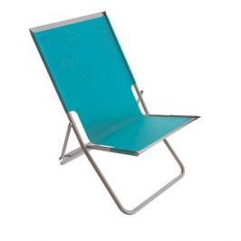 Шезлонг «Супернадежный отдых», металл/полиэстер, цвет синий
