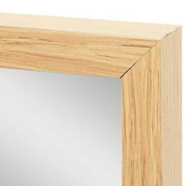 Зеркало декоративное Milo, прямоугольник, 30x120 см, цвет дуб