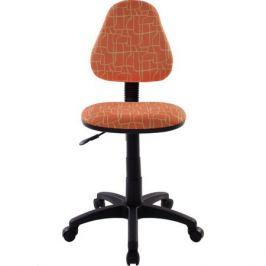 Компьютерное кресло Бюрократ KD-4 оранжевый жираф
