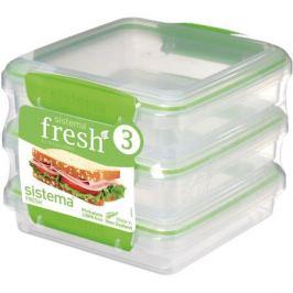 Набор контейнеров для еды Sistema Fresh 951643