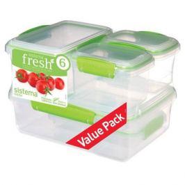Набор контейнеров для еды Sistema Fresh 951760