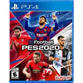 eFootball PES 2020 PS4, русская версия