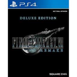 Final Fantasy VII Remake. Deluxe Edition PS4, русская документация