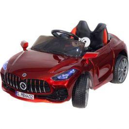 Детский электромобиль Toyland Mercedes Benz sport YBG6412 красный
