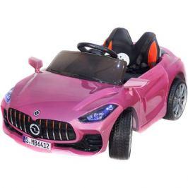Детский электромобиль Toyland Mercedes Benz sport YBG6412 розовый