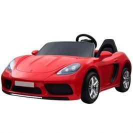 Детский электромобиль Toyland Porsche Cayman YSA021-24V (180 W) красный
