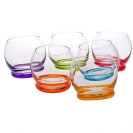 Набор стаканов для виски CRYSTALEX Крейзи Ассорти 390мл, 6шт стекло, 25250/D4718/390