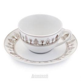 Набор чайный ESPRADO Saragossa 6 персон, 12 предметов 250мл фарфор, SRG025BE304