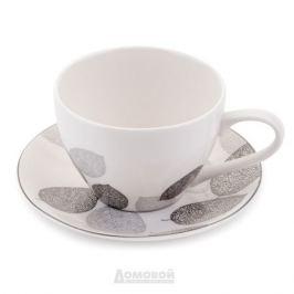 Набор чайный ESPRADO Bosqua Platina 6 персон, 12 предметов 315мл костяной фарфор, BPL031SE304