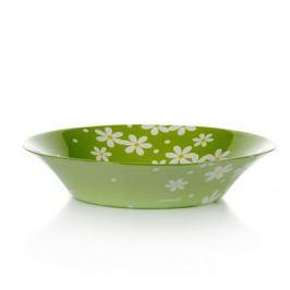Тарелка PASABAHCE Green Garden глубокая 22см, стекло, 10335 D 24561/A SL