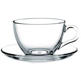 Набор чайный Basic 6/12пр 220мл прозрачное закаленное стекло