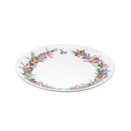 Тарелка DOMENIK Crown of Flowers десертная 19см, фарфор, DM9584