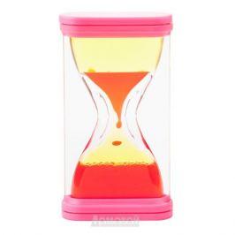 Часы жидкие, декоративные, размер: 15х7см, цветные, пластик