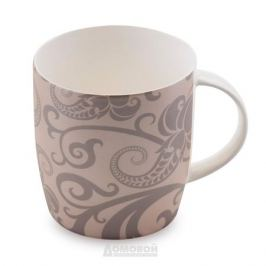 Кружка HOME CAFE Узоры, 300мл, керамика