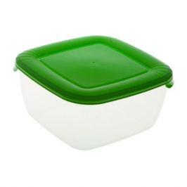Контейнер для продуктов ПОЛИМЕРБЫТ Лайт, квадратный, 2,5л, пластик С544