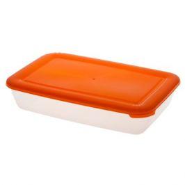 Контейнер для продуктов ПОЛИМЕРБЫТ Лайт, прямоугольный, 0,9л, пластик С552